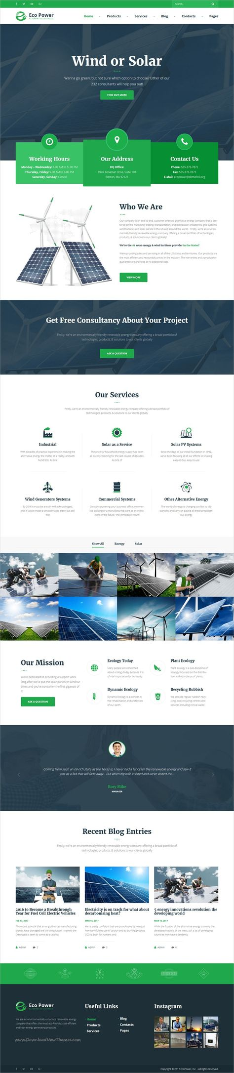 EcoPower - Alternative Power & Solar Energy Company