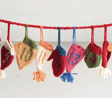 advent calender knitwear