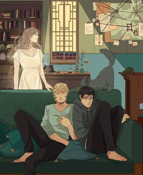 Kit and Ty with Church stretching in the back and Livvy as always close to Ty. I wish you could see the details I put into this here, but… Cassandra Jean, Cassandra Clare Books, The Dark Artifices, Jace Wayland, Emma Carstairs, Shadowhunters Series, Lady Midnight, Cassie Clare, Divergent Funny