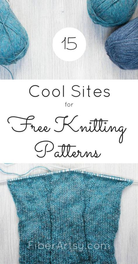 Sites for Free Knitting Patterns by FiberArtsy.com ...