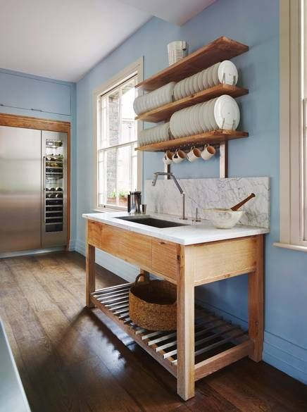 me loves an unfitted kitchen