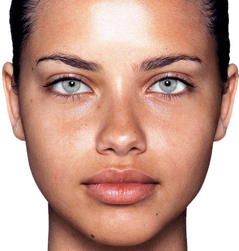 Adriana lima no makeup
