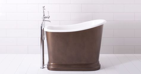 Small Soaking Tubs With Shower Deep Bath Albion Company