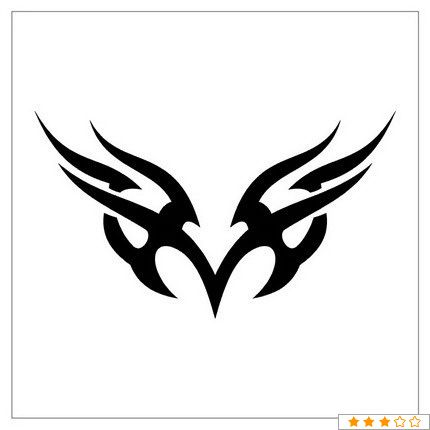 Tribal Tattoo Designs For Letter M Google Search Tribal Drawings Tribal Art Designs Tribal Tattoos