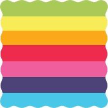 Rainbow Celebrations Kids Birthday Party Invitation