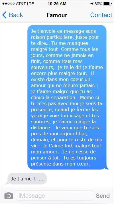 20 Sms Damour Tu Me Manques Citation Amour Distance