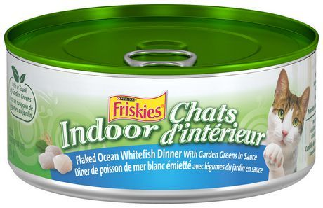Friskies Indoor Flaked Wet Cat Food Ocean Whitefish Dinner With Garden Greens In Sauce Other Best Cat Food Canned Cat Food Turkey Casserole