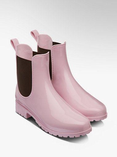 Rozowe Kalosze Damskie Graceland 1748011 Deichmann Com Shoes Boots Chelsea Boots