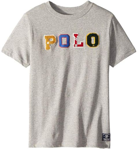 Polo Ralph Lauren Cotton Jersey Graphic T-Shirt (Little Kids Big Kids) 7f80493f4