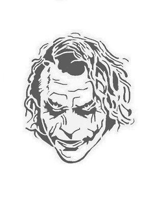 Le Joker Pochoir Art Artisanat Peinture Maison Dã Cor Mural Ideal Stencils