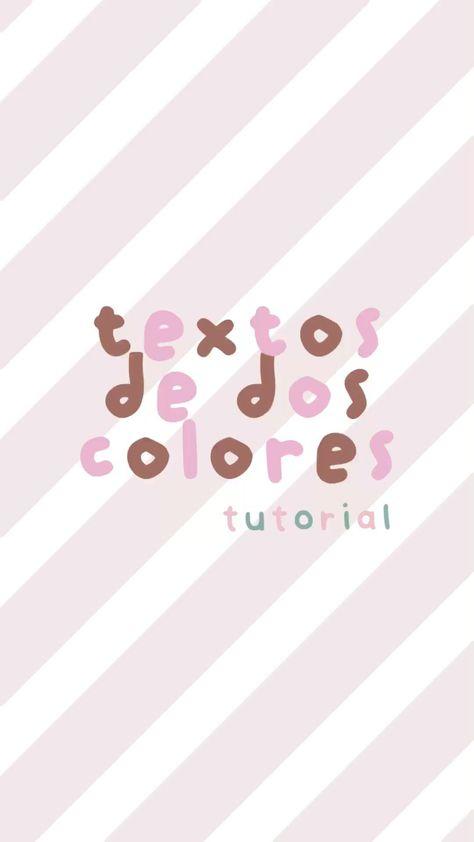 textos de dos colores (tutorial)