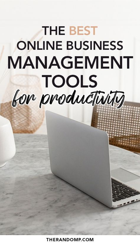 The best online business management tools for improved productivity