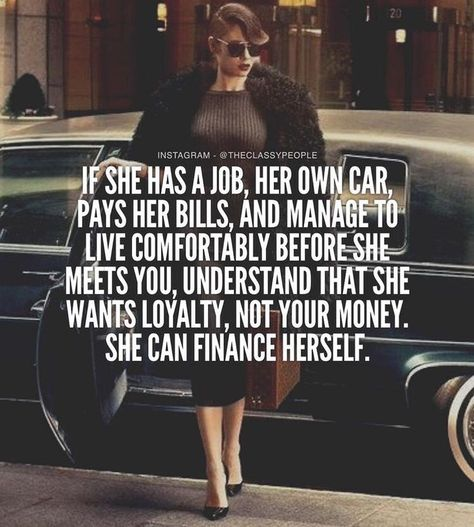 Truth! Strong independent women... Go sit in your urine infested corner, you needy bitch