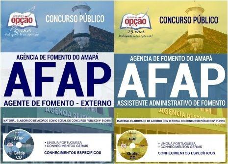 Apostilas Preparatorias Concurso Agencia De Fomento Do Amapa