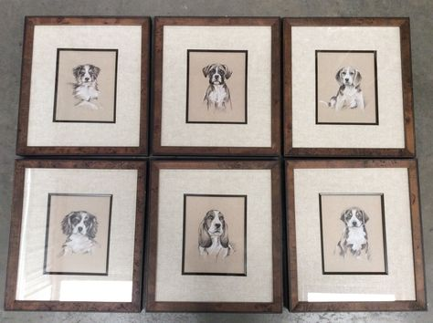 Come To Dogtown Visit Akins Furniture The Largest In Alabama For All Your Home Furnishings Uttermost Dog Prints 39 Each