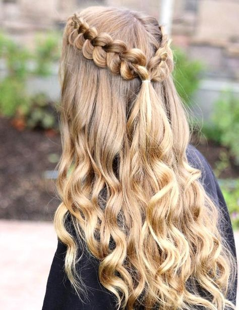 27 Cute and Easy Long Hairstyles for School 27 Cute and Easy Long Hairstyles for S. cute easy hairstyles long school - 27 Cute and Easy Long Hairstyles for School 27 Cute and Easy Long Hairstyles for S… Cute Hairstyles For Teens, Cute Simple Hairstyles, Easy Hairstyles For Long Hair, Winter Hairstyles, Curled Hairstyles, Diy Hairstyles, Hairstyle Short, Hairstyle Wedding, High School Hairstyles