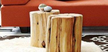 50 Couchtische aus Baumstamm gestaltet in 2020 | Couchtisch