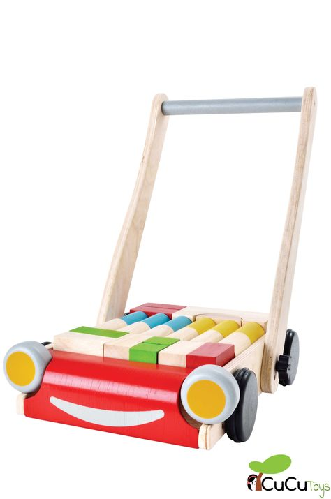 Carrito andador BabyWalker - PlanToys - CuCuToys | Envío 24h ...