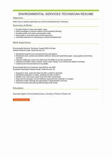 Environmental Services Job Description Resume Inspirational Environmental Services Techn Teaching Assistant Job Description Teaching Assistant Job Service Jobs
