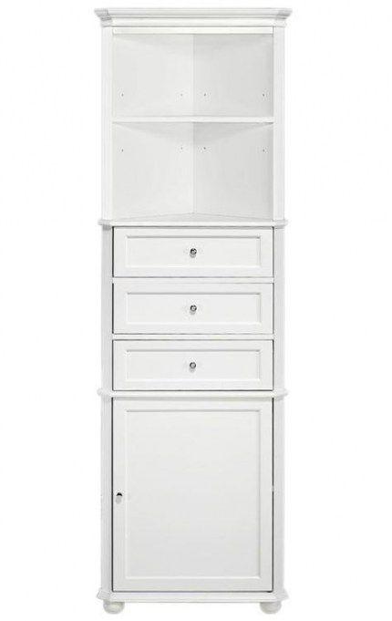 37 Ideas For Bathroom Storage Corner Cabinet Drawers Bathroom Corner Linen Cabinet Linen Storage Cabinet Bathroom Corner Storage