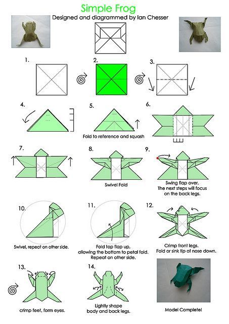 Origami: Frog