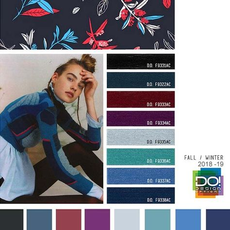 color report on Contemporary Activewear Mood details: Team Player, detail.