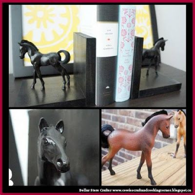 Dollar Store Crafter: Turn Dollar Store Toys Into Bookends