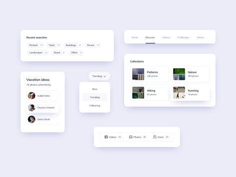 UI Components Design