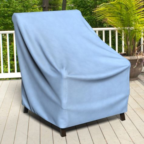 Budge Industries All Seasons 37 X 41 In Outdoor Patio Chair Cover