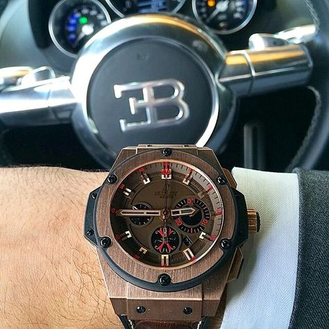 Bugatti x Hublot MEA King Power Watch .