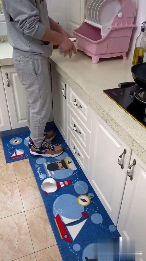 PVC Kitchen Oil-Absorption Waterproof Mat