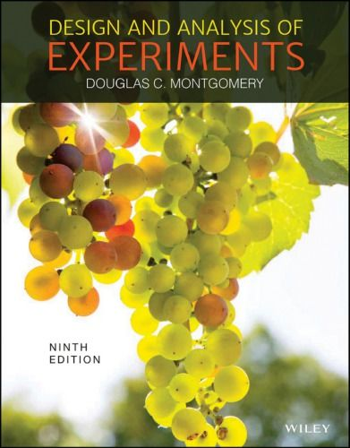 Design And Analysis Of Experiments 9th Edition Isbn 13 978 111911347 Ebookschoice Com Analysis Experiments Solutions