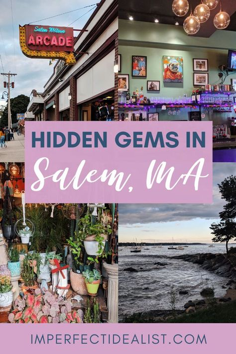 5 Non-Witchy Things to Do in Salem, Massachusetts Day Trips From Boston, Boston Things To Do, Boston Weekend, 5 Things, Dream Vacations, Vacation Spots, Summer Vacations, Disney Vacations, Salem Halloween
