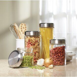 Wayfair Com Online Home Store For Furniture Decor Outdoors More Kitchen Canister Sets Canister Sets Glass Canister Set