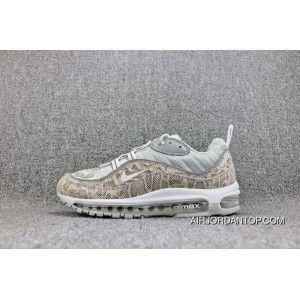 Supreme X Nike Air Max 98 SUP Snakeskin 844694 100 Mens
