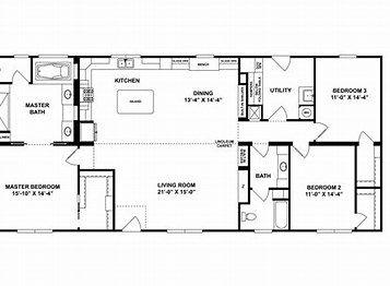 Image Result For Norris Super D 76 Floorplan Clayton Homes Floor Plans Modular Homes For Sale
