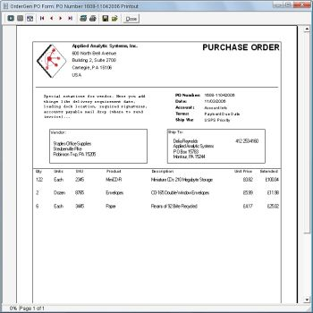 Simple purchase order form software Purchase Order Pinterest - are invoice and purchase order the same
