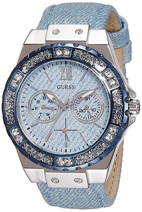 W0775l1 En Guess Para Reloj Lujo 2019 AzulIsa MujerColor De nOvmwN80
