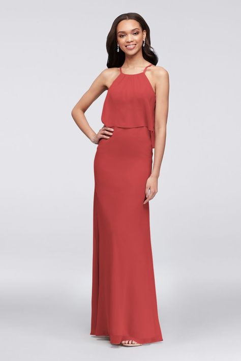916785d6568 List of Pinterest steel blue bridesmaid dresses davids bridal ...