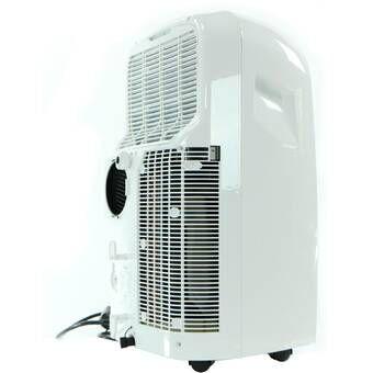 Haier 8000 Btu Portable Air Conditioner With Remote Reviews Wayfair Portable Air Conditioning Air Conditioner With Heater Portable Air Conditioner
