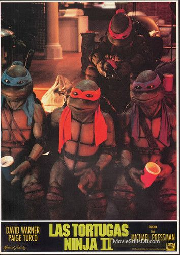 Teenage Mutant Ninja Turtles Ii The Secret Of The Ooze Lobby Card With Michelan Sisti Mutant Ninja Turtles Teenage Mutant Ninja Turtles Teenage Mutant Ninja