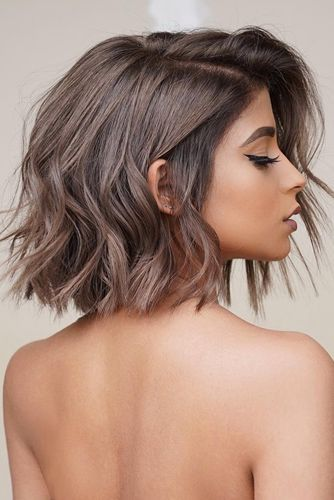 45 Versatile Medium Bob Haircuts To Try Lovehairstyles Com Bob Hairstyles For Thick Medium Bob Haircut Messy Bob Hairstyles