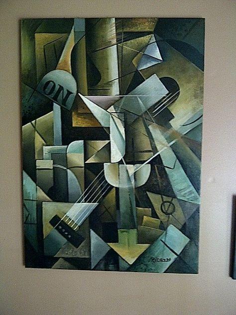 painting cubism picasso - Recherche Google