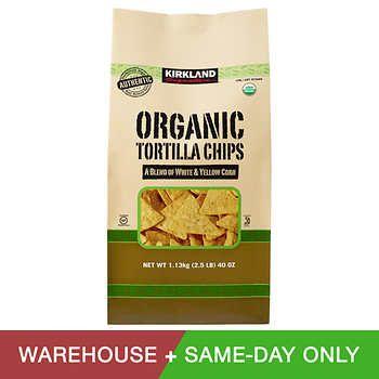 Kirkland Signature Organic Tortilla Chips 40 Oz Costco Meals