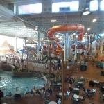 Kalahari indoor water park in  Sandusky, Ohio.  Be sure to book at Vacation4Less on Facebook for the best deals!!