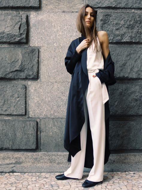 Giorgia Tordini   Minimal   Soft Layers   Style   Street Style   HarperandHarley