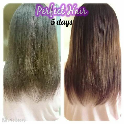 Clients results 100% #naturalhair tonic #perfecthair ...
