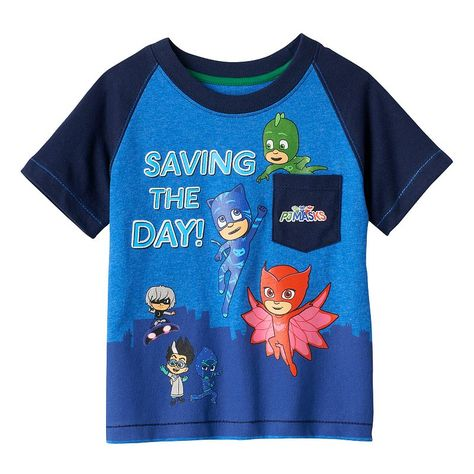 77796481 Toddler Boys' PJ Masks Short Sleeve T-Shirt With Cape Gray - 5T, Toddler  Boy's | Products | T shirt, Shirts, Kids outfits
