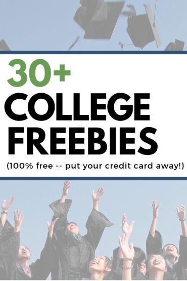 100% Free Stuff for College Students (2021) - LushDollar.com