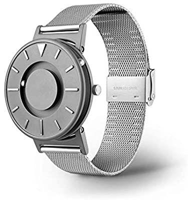 Rolexes Clock Shop Reloj Con Toque Magnetico Concepto De Moda Creativo Reloj Unisex Pulsera De Acero Ino En 2020 Pulseras De Acero Inoxidable Reloj Concepto De Moda